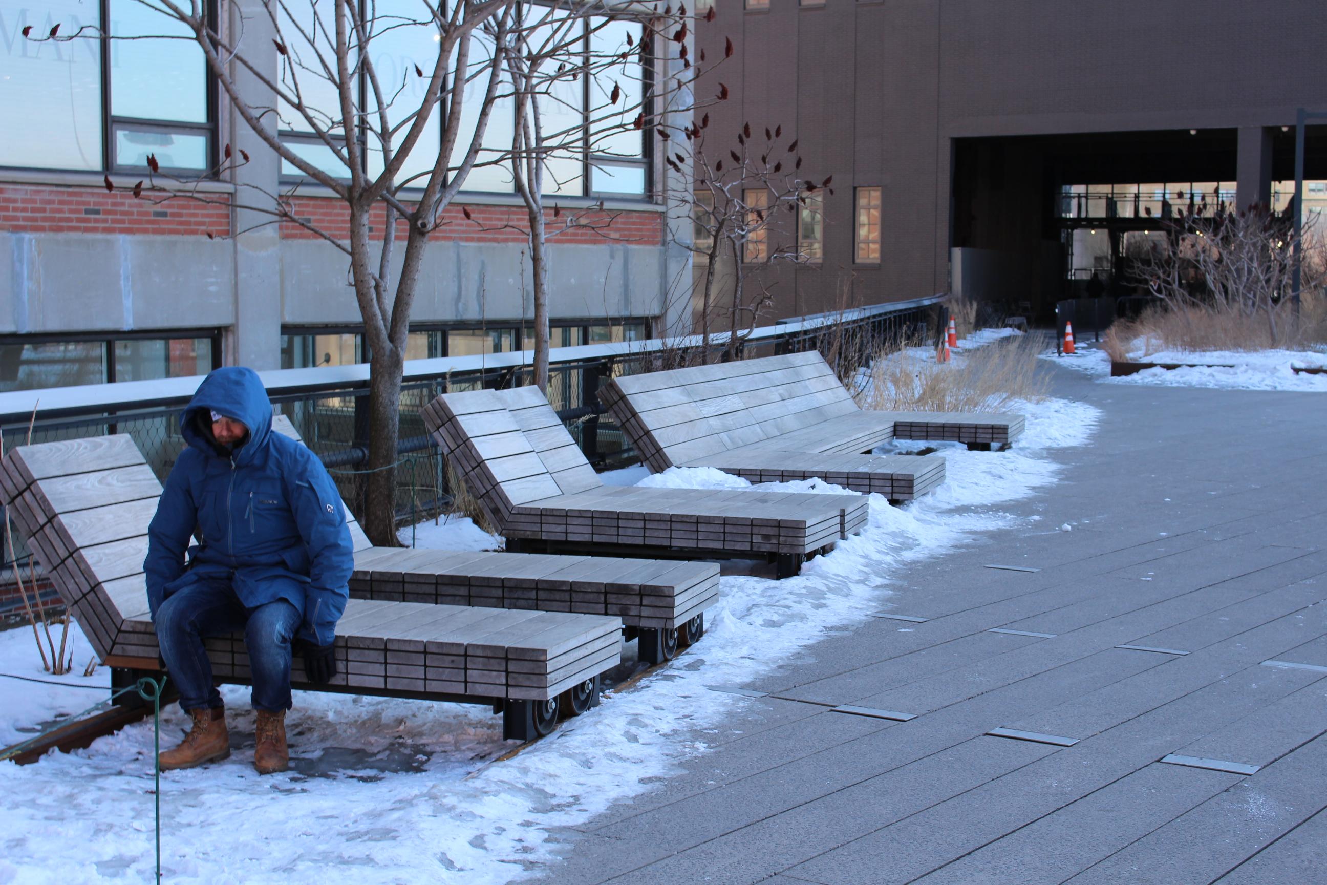 Bänk utomhus - inspiration från The Highline i nyc - Sands & Co ...